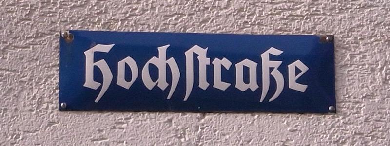 Hochstrasse
