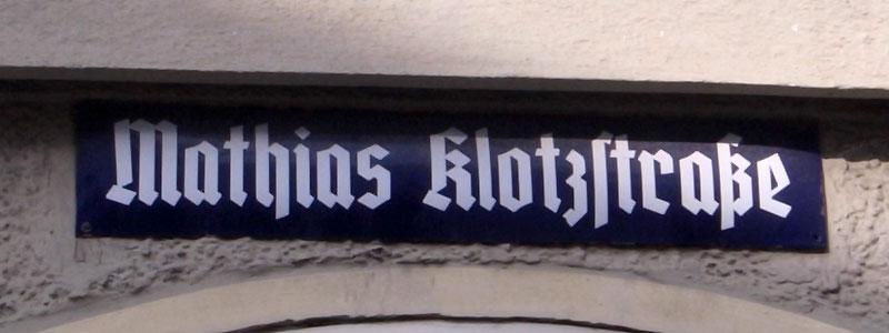 Mathiasklotzstrase